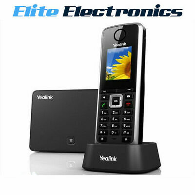 Yealink W52P Hd Ip Dect Phone + Base Station & Handset & Charger
