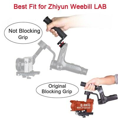 WB-Grip Hand Grip with 1/4 Screw Holes Gimbal Accessories for Zhiyun Weebill Lab