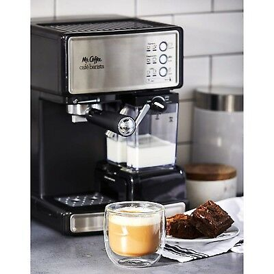 Mr Coffee Cafe Barista Espresso Maker With Automatic Milk Frother Bvmc Ecmp100