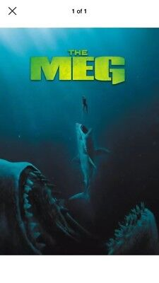 "🦈 ""The Meg "" 🦈 (DVD, 2018) Brand New. Factory Sealed. Free Shipping."