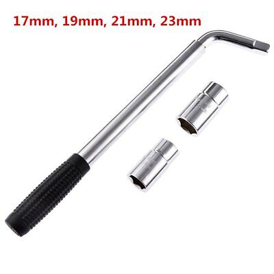 Wheel Master Wrench Telescopic Socket Brace 17mm 19mm 21mm 23mm Nuts Garage Tool
