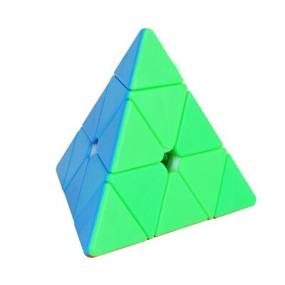 YuXin 3x3 Pyramid Triangle Speed Magic Cube Professional Pyraminx Twist  Puzzle