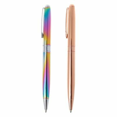 Metal Roller Ball Pen Luxury Ballpoint Pen 0.5mm Business Office Pen Write Gift