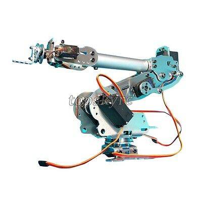 6DOF Mechanical Robotics Arm Robot Claw with Servo Arduino DIY Unassembled