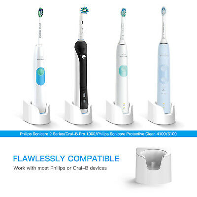 New US Plug For Braun oral B/Philips Sonicare 2 Electric Toothbrush Charger Base