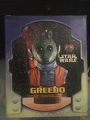 Star Wars Greedo Special Edition Bust