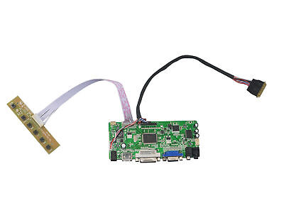 Monitor panel Kit for CLAA156WB11A LCD LED Lvds Controller Board HDMI+DVI+VGA