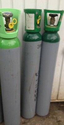 Argon CO2 Cylinder And Gas                          No Rental 10 Litre 200bar