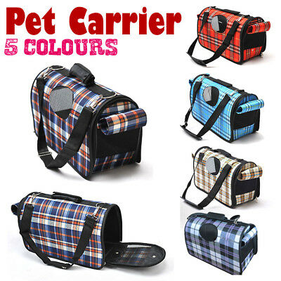Pet Soft Crate Portable Dog Cat Carrier Travel Cage Kennel Folding Large S M L