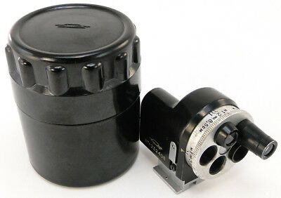 CLA'd UNIVERSAL Russian TURRET VIEWFINDER 28mm 50mm 85mm 35mm 135mm Lens Leica