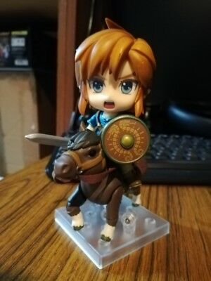 The Legend of Zelda 733-DX Nendoroid Link Action Figure Breath of the Wild Gifts
