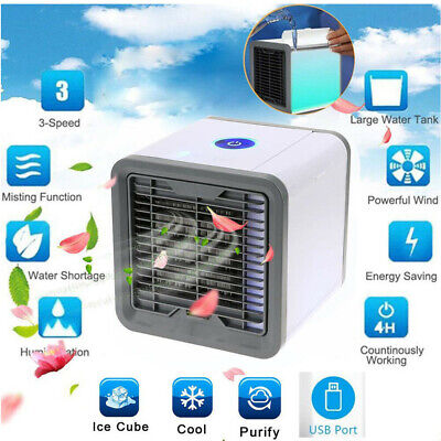 AU Air Cooler Cooling Air Humidifier Purifier Water Conditioner Fan Rechargeable