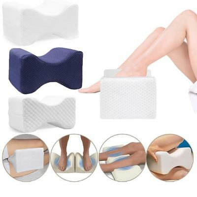 Memory Foam Leg Pillow Cushion Hips Knee Pillow Support Pain Relief Washable AU