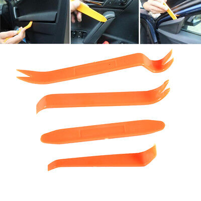 4PCS Auto Car Radio Door Clip Panel Trim Dash Audio Removal Installer Pry Tools