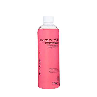 TACSYSTEM Iron Zero Foam Car shampoo Iron Remover Snow Foam Car Wash Soap 500 ml