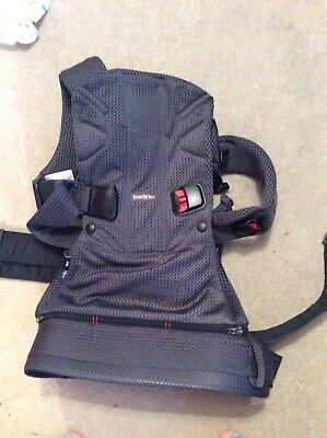 baby bjorn baby carrier one air dark grey nearly new