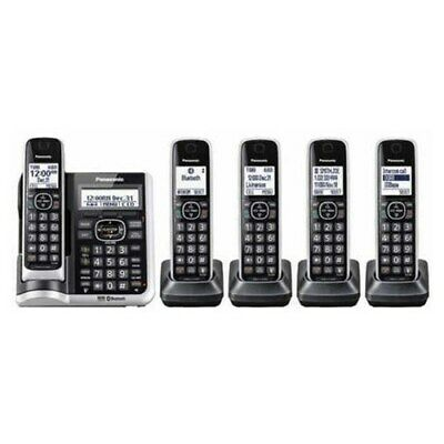 Panasonic KX-TG885SK 5 Handset Cordless Phone w/ DECT 6 Technology & Bluetooth