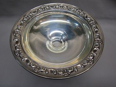 """Gorham Sterling Silver Footed Candy Nut Dish Compote 1140 Weighted Vtg 6"""" Tall"""