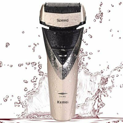 KM-8102 Professional Waterproof Electric Shaver Trimmer For Men Face Care Razor