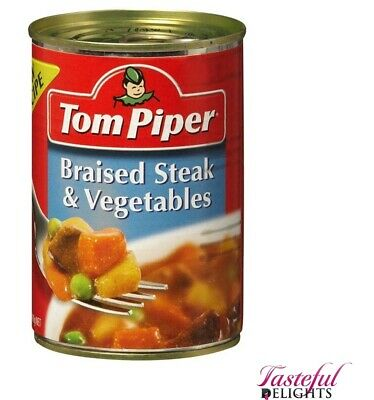 Tom Piper Steak & Vegetable 400g
