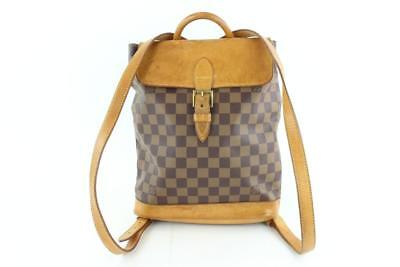 85e0e99fe2f Louis Vuitton Damier Ebene Arlequin Centenaire Soho Backpack Brown 3LZ1129