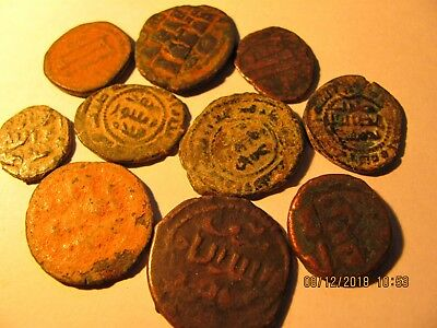 Lot A  10 x ISLAMIC Old AE Coins - gute Qualität  - TO IDENTIFY -