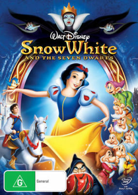 Snow White and the Seven Dwarfs  [New & Sealed] REGION 4 DVD