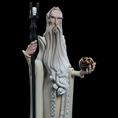 WETA Lord of the Rings Mini Epics Saruman Vinyl Figure Statue NEW - SEALED