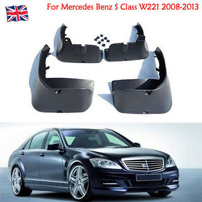 OEM Splash Guards Mud Guards Mud Flaps For Mercedes Benz S Class W221 2008-2013
