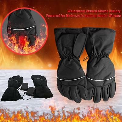 Winter Warm Rechargeable Electric Battery Heated Gloves For Cycling Outdoor IT