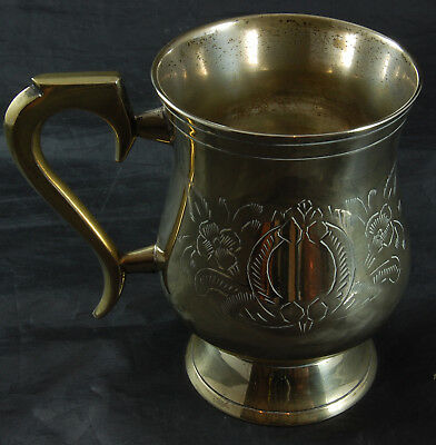 Vintage EPNS Decorated Tankard