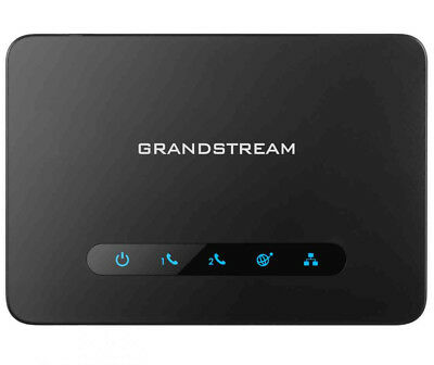 New  Grandstream Networks HT812 VoIP telephone adapter BHT812