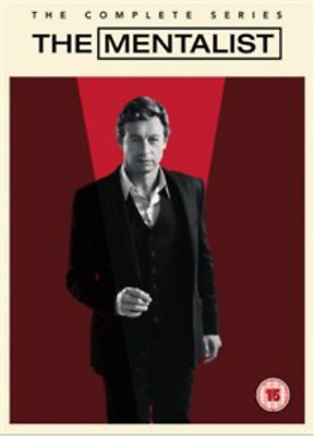 Simon Baker, Owain Yeoman-Mentalist: The Complete Series DVD NUEVO