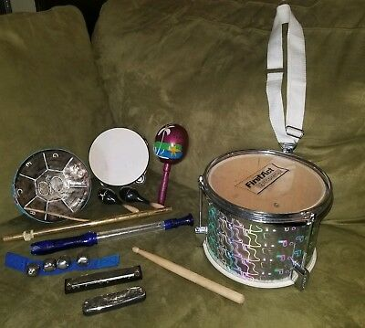 First Act kids toy drum Musice Instruments Lot