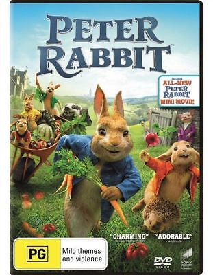 Peter Rabbit DVD : NEW