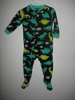 Child of Mine by Carters Boys 18 mos Footed Blanket Sleeper Dinosaurs