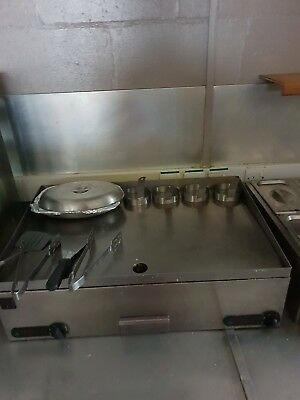 Good condition as u can see in pic still stainless steel condition