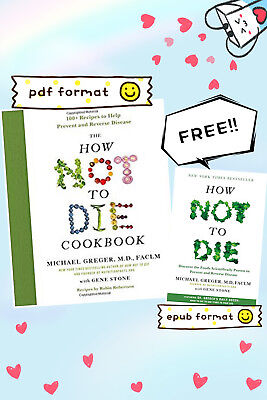 [EB00KS] How Not to Die Cookbook + FREE How Not to Die Book by Michael Greger