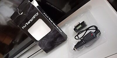 FM transmitter & Hands Free for older iPod iPhone4 & iPad With In Car Charger