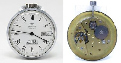 Orologio tanivann calendar pocket watch vintage mechanic clock for spare parts