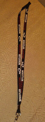 Whistler Blackcomb Key Chain Necklace Lanyard