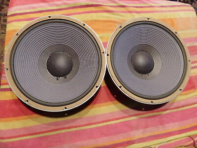 JBL LE15A Woofers Speakers Sequential Serial S Serviced Sertec San Jose 8 Ohm