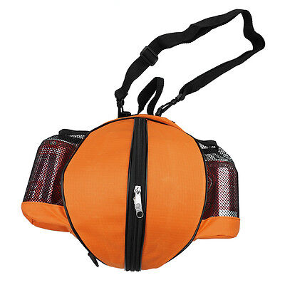 "29.5"" NBA Basketball Bag Soccer Ball Football Volleyball Softball Bag-Orange"