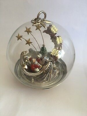 "LENOX Christmas Ornament ""75th Anniversary"" MACY'S Thanksgiving Day Parade NIB"