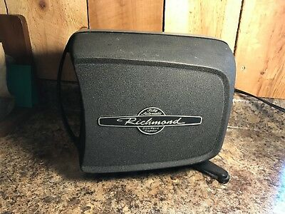 Vintage Richmond Fully Automatic Aurora 8 mm Movie Projector in Case