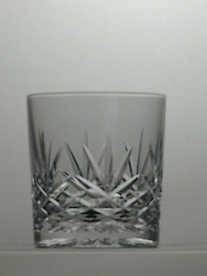 Lead Crystal Cut Glass Tumbler