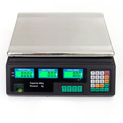 Digital Price Computing Scale for Food Meat Produce Deli Market Vegetable