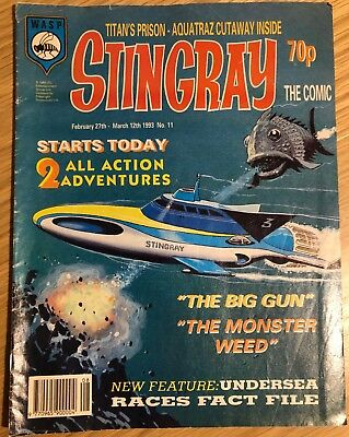 Stingray the Comic - February 27th - March 12th 1993 - No 11
