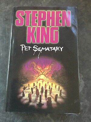 Pet Sematary by Stephen King Hardback 1984 Very Collectible