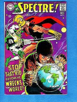 Spectre #4,1968,FN+ 6.5,Neal Adams story, cover and art